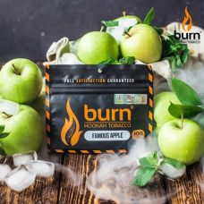 Табак для кальяна BURN FAMOUS APPLE 100g.