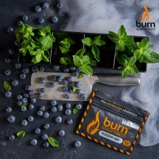 Табак для кальяна BURN BLUEBERRY MINT 100g.