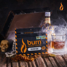Табак для кальяна BURN GOLDEN RUM 100g.