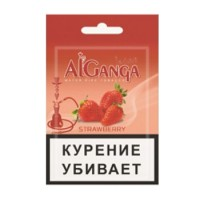 Табак для кальяна AL GANGA CREAM STRAWBERRY КЛУБНИКА С КРЕМОМ