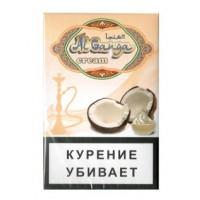 Табак для кальяна AL GANGA CREAM COCONUT КОКОС С КРЕМОМ