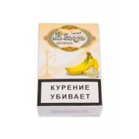 Табак для кальяна AL GANGA CREAM BANANA БАНАН С КРЕМОМ
