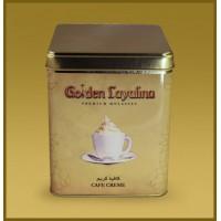 Табак для кальяна GOLDEN LAYALINA CAFE CREAM КОФЕ СО СЛИВКАМИ