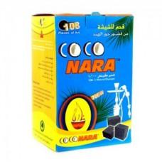 Уголь для кальяна кокосовый COCO NARA 96 куб.(1 кг.)
