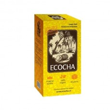 Уголь для кальяна кокосовый ECOCHA 96 куб.(1 кг.)