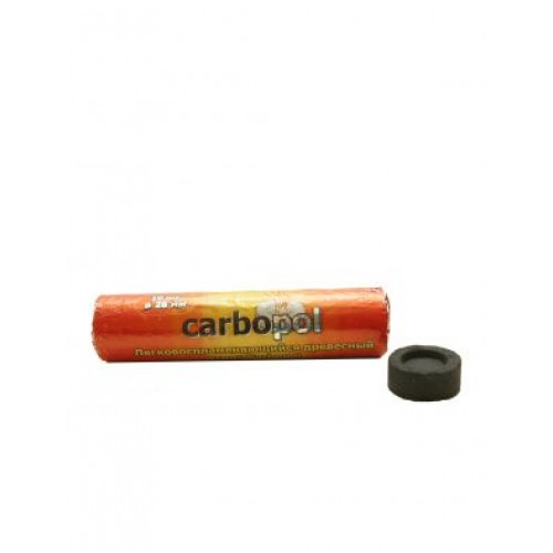 Уголь быстровоспламеняющийся Carbopol (Карбопол) 28 мм