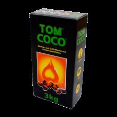 Уголь для кальяна кокосовый TOM COCOCHA 3 кг.