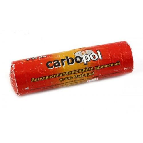 Уголь быстровоспламеняющийся Carbopol (Карбопол) 35 мм