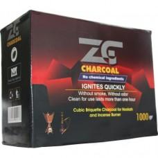 Уголь для кальяна древесный ZOGHAL GHALEB 1 кг.